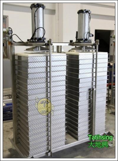 Semi-Auto Pressing Machine (Double Row)